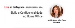 Sigilo e Confidencialidade no Home Office