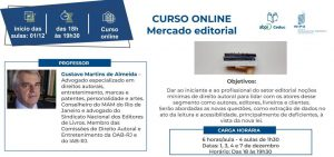 Curso online: Mercado Editorial